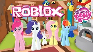 Roblox: My Little Pony 3D: Roleplay est magique - Fluttershy And Friends