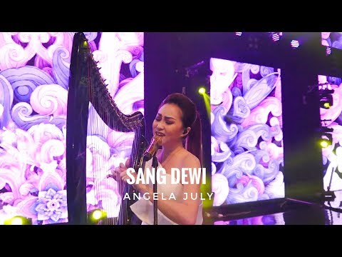 Sang Dewi - Live Vocal And Harp Performance By Angela July