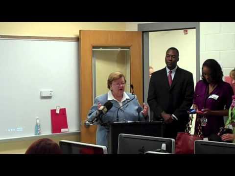Senator Barbara Mikulski Speaks About Telemedicine at Schools