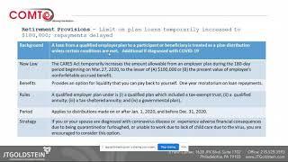 Webinar: COVID-19 Tax Implications