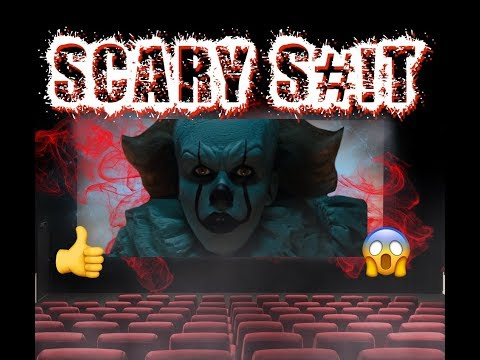 """Real Clown (Pennywise) in Cinema """"scary s..."""""""