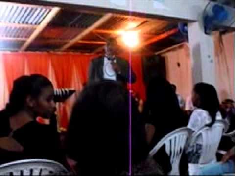 Pastor Steeve Lejeune preaches in spanish  at Santo Domingo