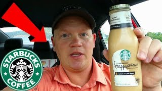 Starbucks Toasted White Chocolate Frappuccino (Reed Reviews)