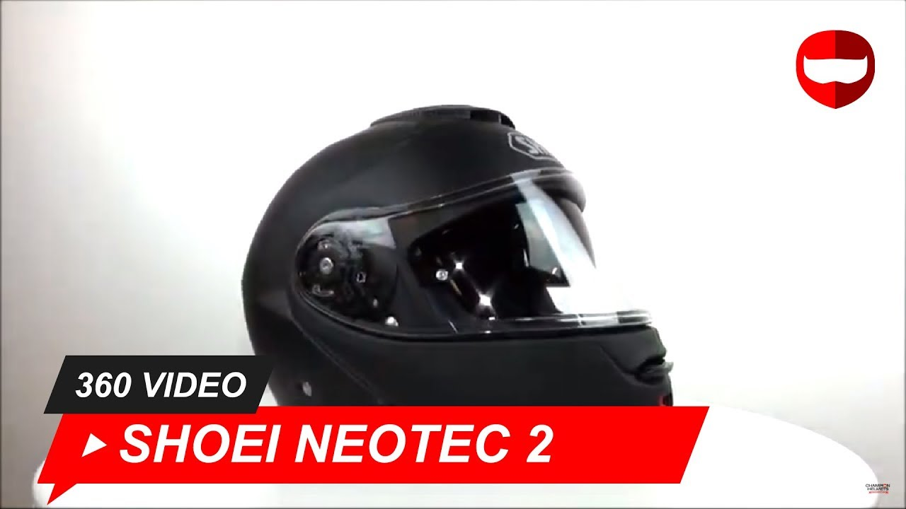 Shoei Neotec Ii Matt Black Helmet Championhelmetscom Youtube