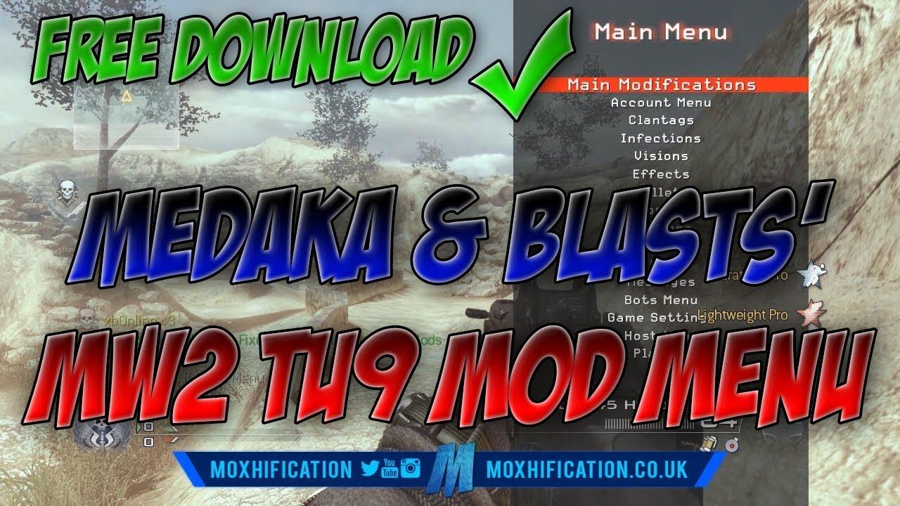 MW2 | TU9 | Medaka & Blasts All Client Mod Menu | +Download