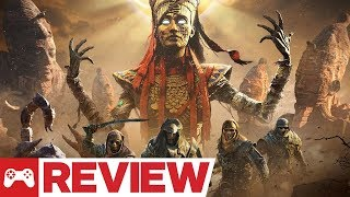 Assassin's Creed Origins: The Curse of the Pharaohs DLC Review (Video Game Video Review)