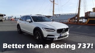 2017 Volvo V90 Cross Country: Why it's better than a Boeing 737!