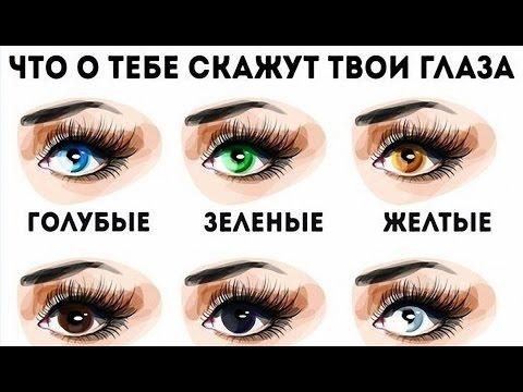 ТЕСТ ХАРАКТЕРА ПО ЦВЕТУ ГЛАЗ!