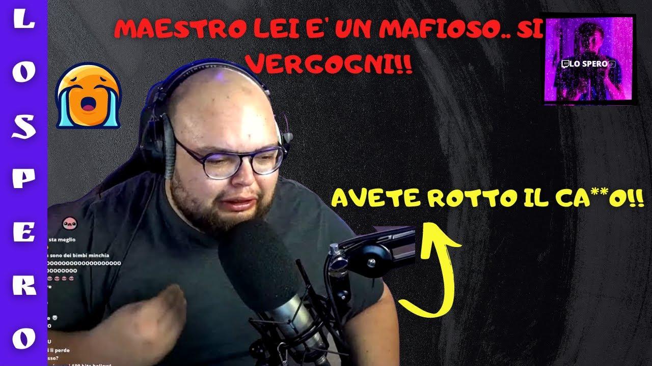 Download IL MAESTRO GSKIANTO PIANGE PERCHE GLI VIENE DATO DEL MAFIOSO