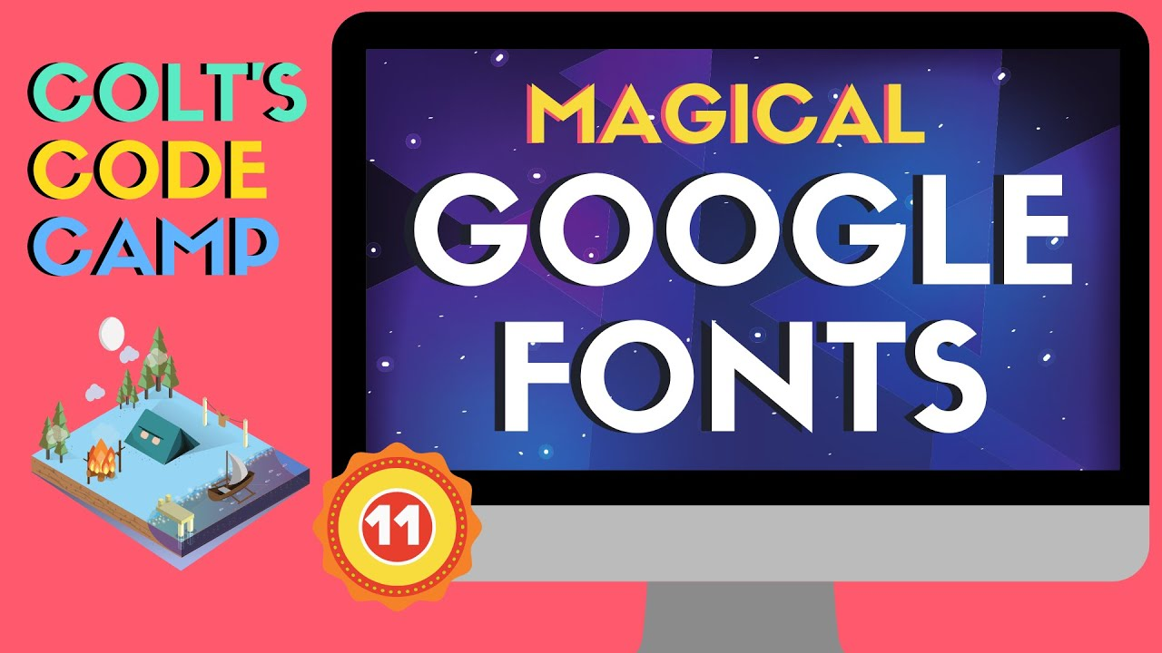 Using & Optimizing Google Fonts - Colt's Code Camp