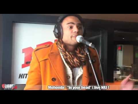 Mohombi - In your head - Live - C'Cauet sur NRJ