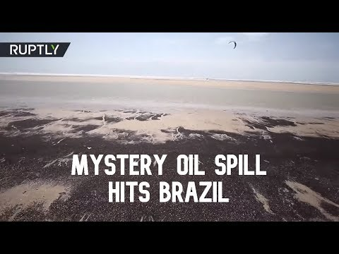 Mystery oil spill hits 130 beaches across northeast Brazil