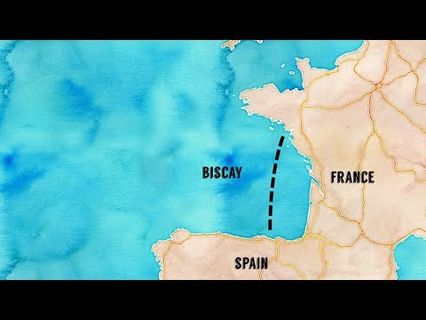 Bay Of Biscay - The In-shore Route Option | Sailing Kittiwake - Extra