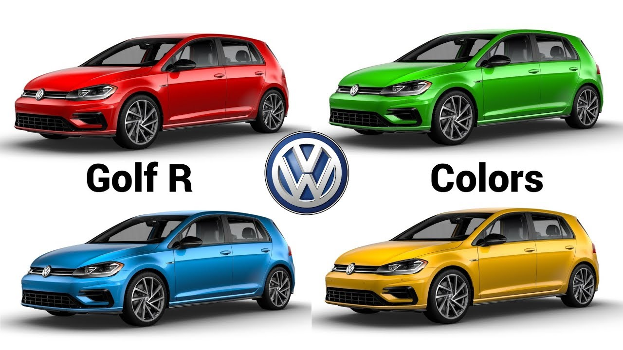 2019 volkswagen golf r colors configurator youtube. Black Bedroom Furniture Sets. Home Design Ideas