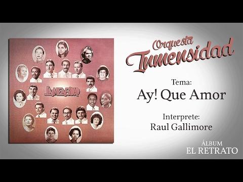 Ay! Que Amor - Orq. Inmensidad / Sonido vinilo 33 rpm / Audio Remaster (1988)