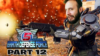 Earth Defense Force 5 Part 12 - Funhaus Gameplay