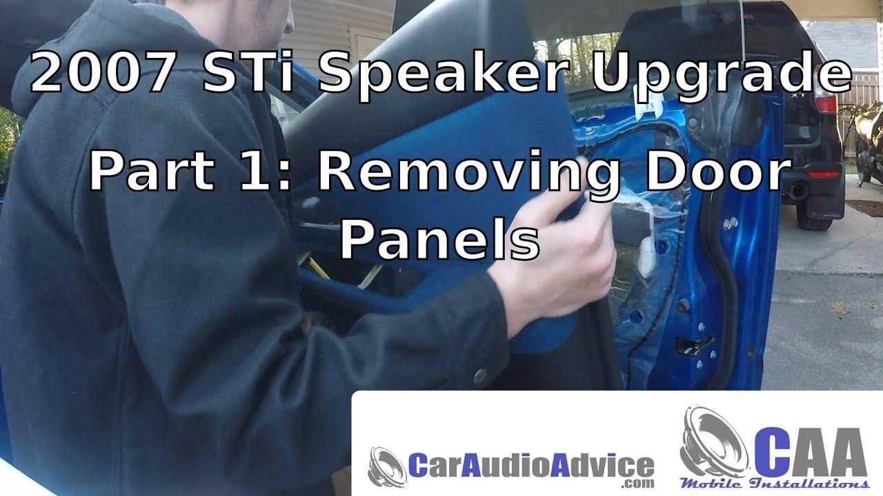 02-07 Subaru Impreza WRX Front Door Speaker 2002-2007