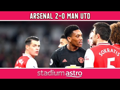Arsenal 2 - 0 Manchester United   EPL Highlights   Astro Supersport