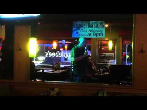 Mike singing karaoke