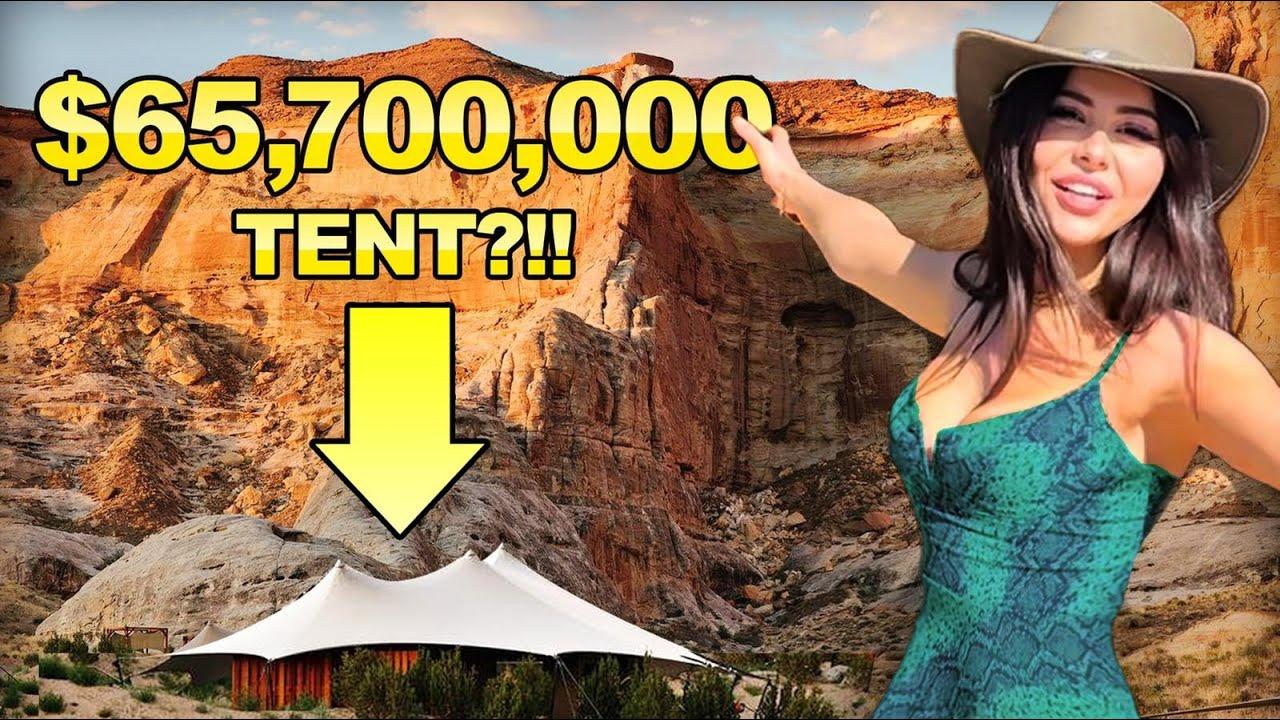 $65 Million Tent - SURVIVAL CHALLENGE !