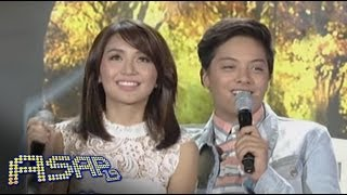 Repeat youtube video Kathryn, Daniel sing 'Grow Old With You' on ASAP