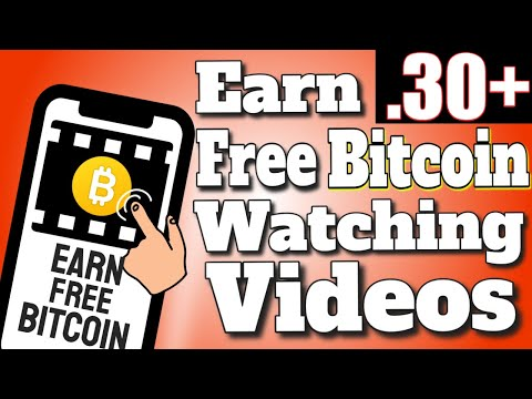 Earn FREE BITCOIN Watching Videos | EARN 0.30+ BTC PER DAY | FREE BITCOIN SITES