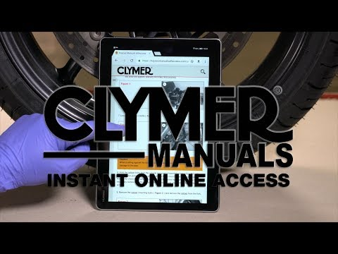 Access Clymer Powersports DIY Service Manuals Instantly Online