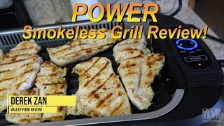 POWER Smokeless Grill Review!!! (Does it really work?!?)
