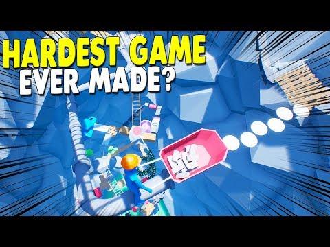 [LIVE?] HARDEST GAME EVER? - Using A Wheelbarrow to Climb A Junk Pile - Climb with Wheelbarrow - 동영상