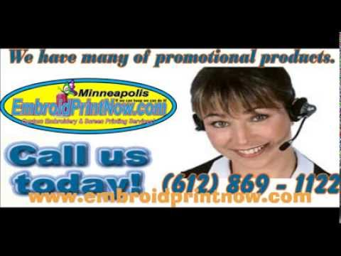 Screen Printing Embroidery Promotional Products Edenprairie, MN