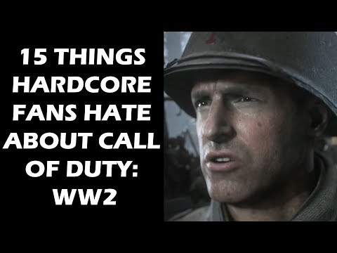 15 Things Hardcore Fans Hate About Call of Duty: WW2