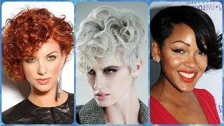 Nowoczesne pomysły na fryzura loki krótkie włosy