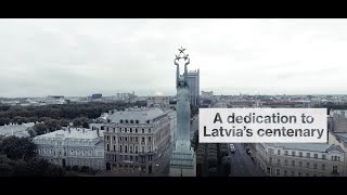 A Tribute To The Centenary Of Latvia