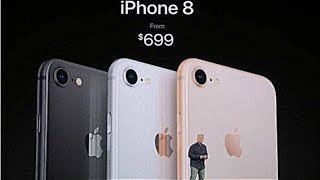iPhone 8 and 8 Plus announced with glass back, true tone display