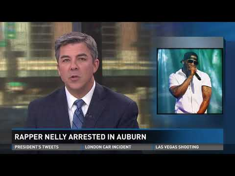 Rapper Nelly arrested in Auburn, Wash.