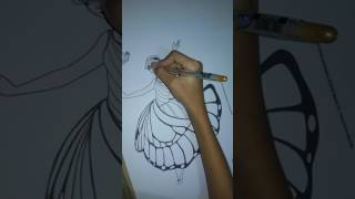 "How to Draw a ""Barbie Mariposa"" Hair"