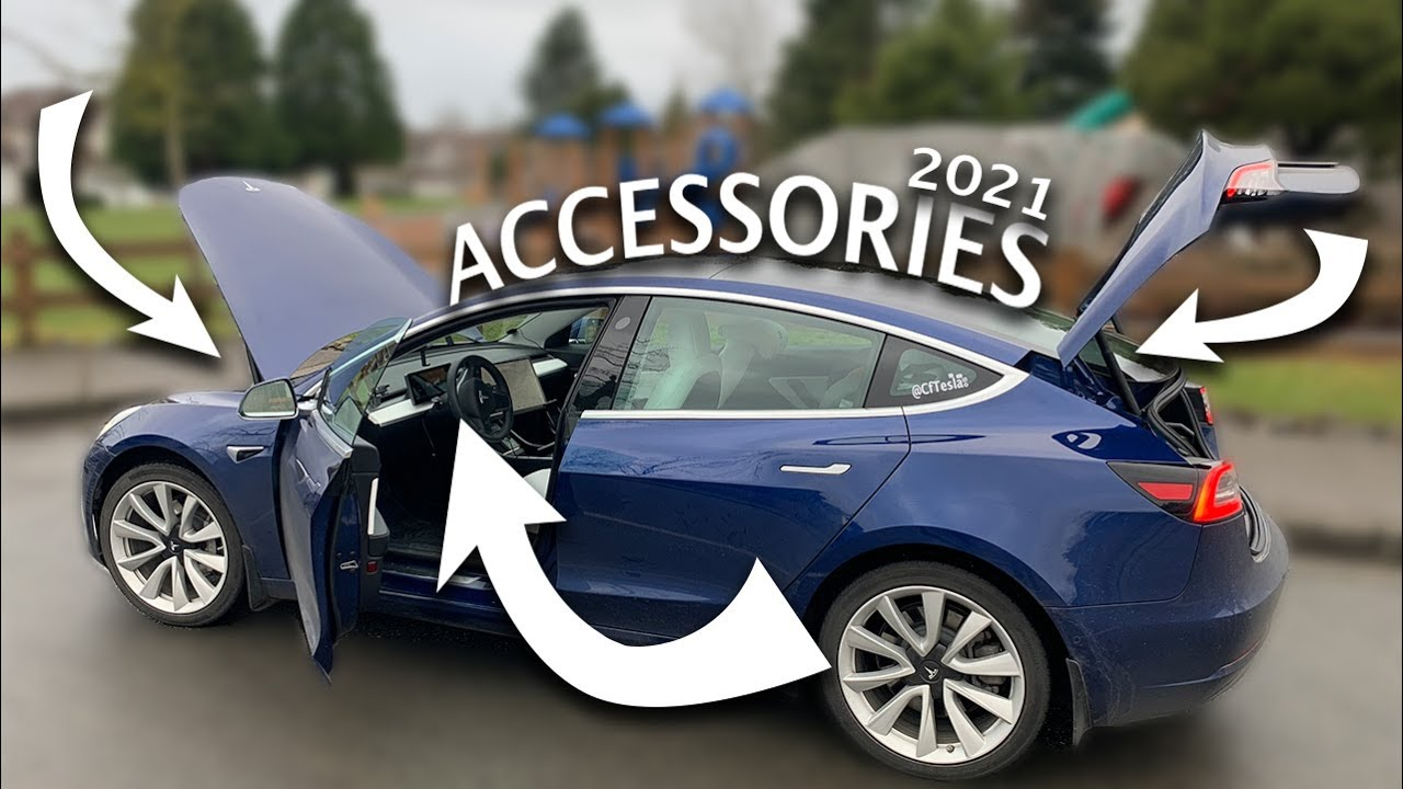 Tesla Model 3 & Y - 2021 In Depth Accessory Guide \\ What I still Use After 16 Months