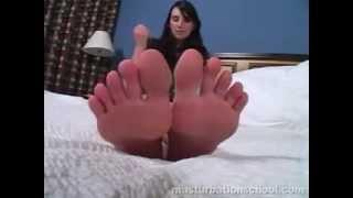 Kayla foot fetish JOI