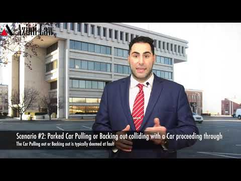 Azimi Law - Parking Lot Accidents and Liability