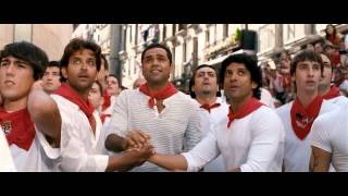 Hrithik, Farhan And Abhay Chased By Bulls - Zindagi Na Milegi Dobara (2011) BRRip 720p x264 AAC