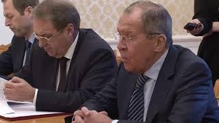 С.Лавров и И.Герцог