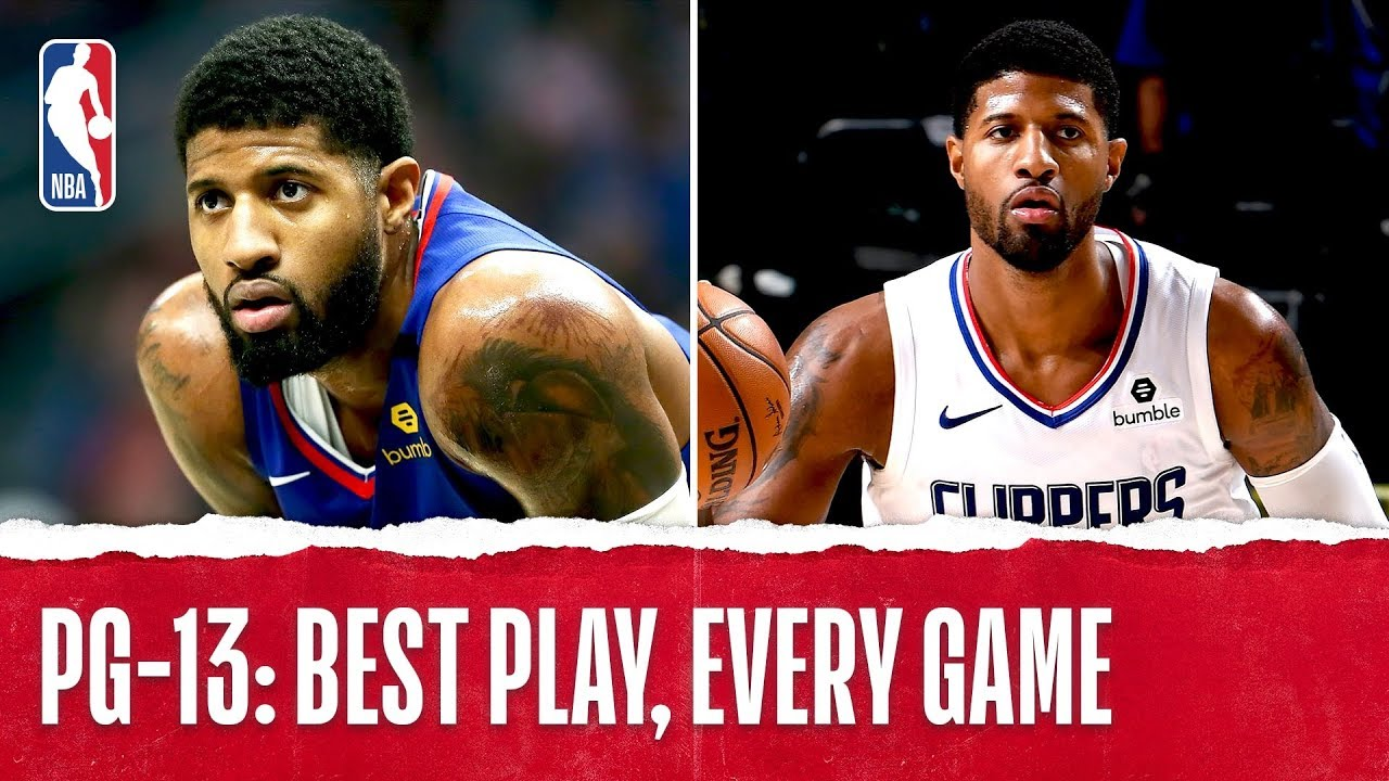 Paul George's Best Plays From Every Game!