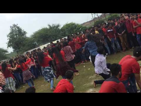 renaissance college indore freshers party dance