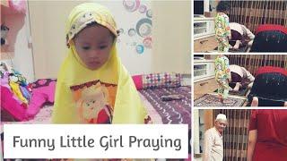 Video Marsya Li 11# Funny little girl praying wear prayer veil (belajar sholat) download MP3, 3GP, MP4, WEBM, AVI, FLV Oktober 2018