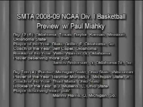 So Much to Talk About: 2008-09 NCAA Basketball Preview-Pt. 3 of 9