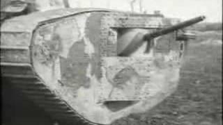 World War One - Tanks