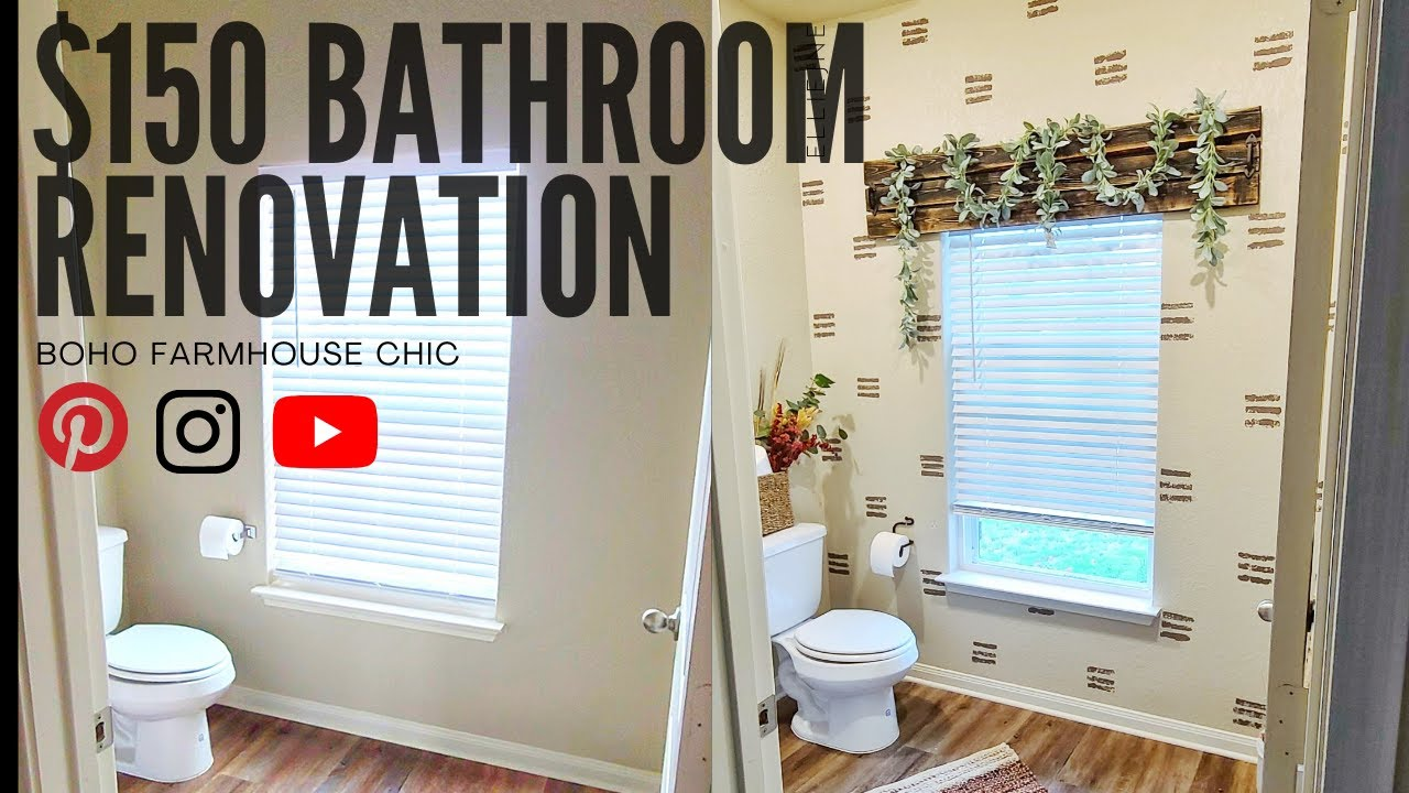 $150 Bathroom Decor
