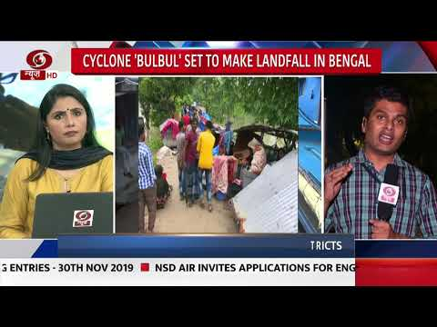 Cyclone 'Bulbul' Set to Make Landfall in Bengal