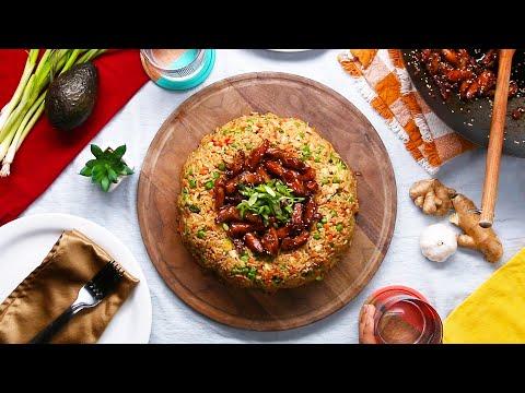 Teriyaki Chicken Fried Rice Dome