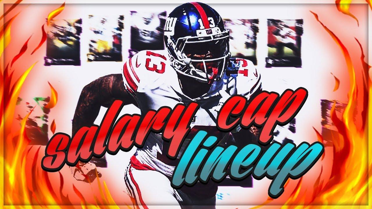 Salary Cap Lineup Update 2 M19 Pittsburgh Steelers Club Series
